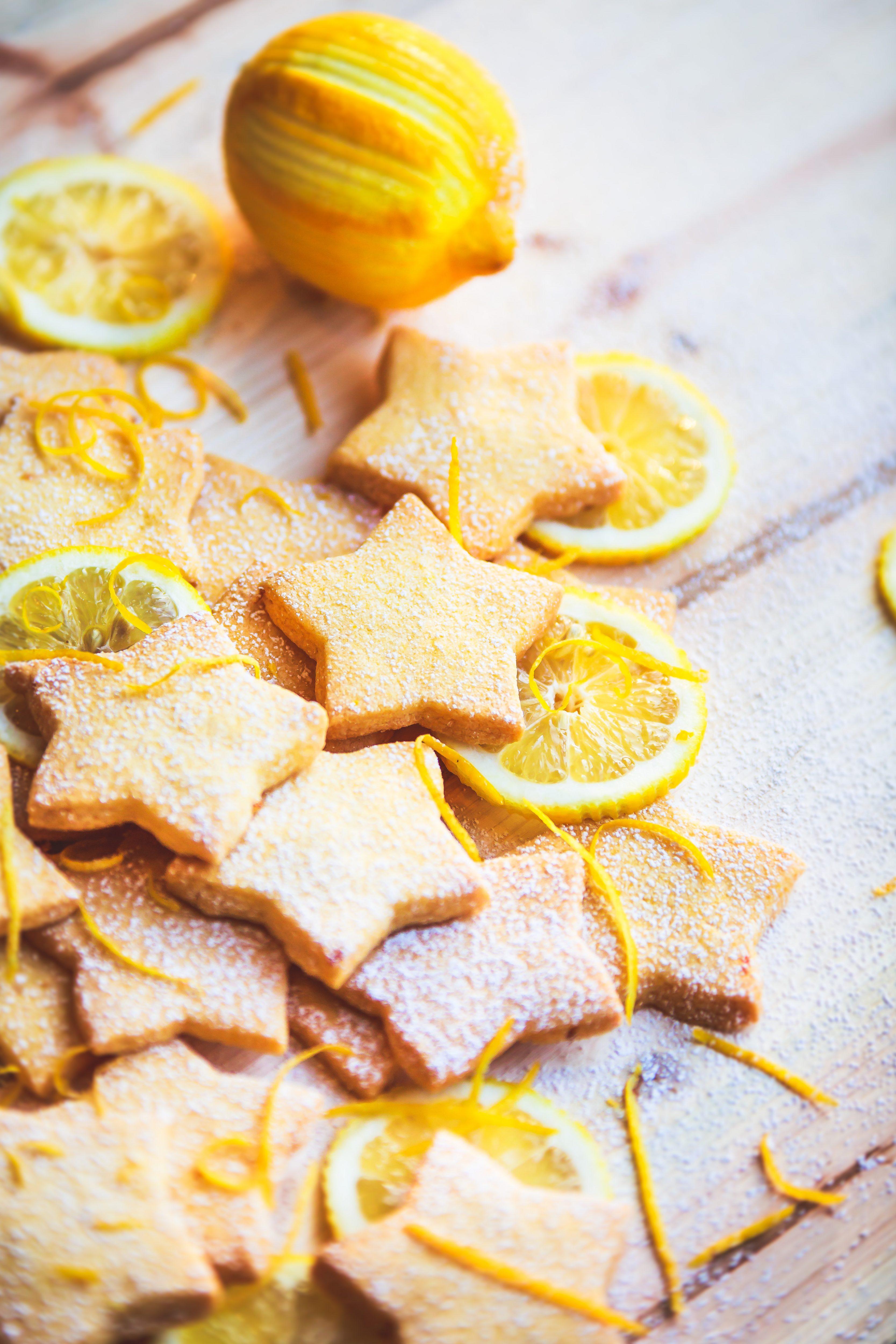 Recette facile Biscuits au citron Photos Culinaire