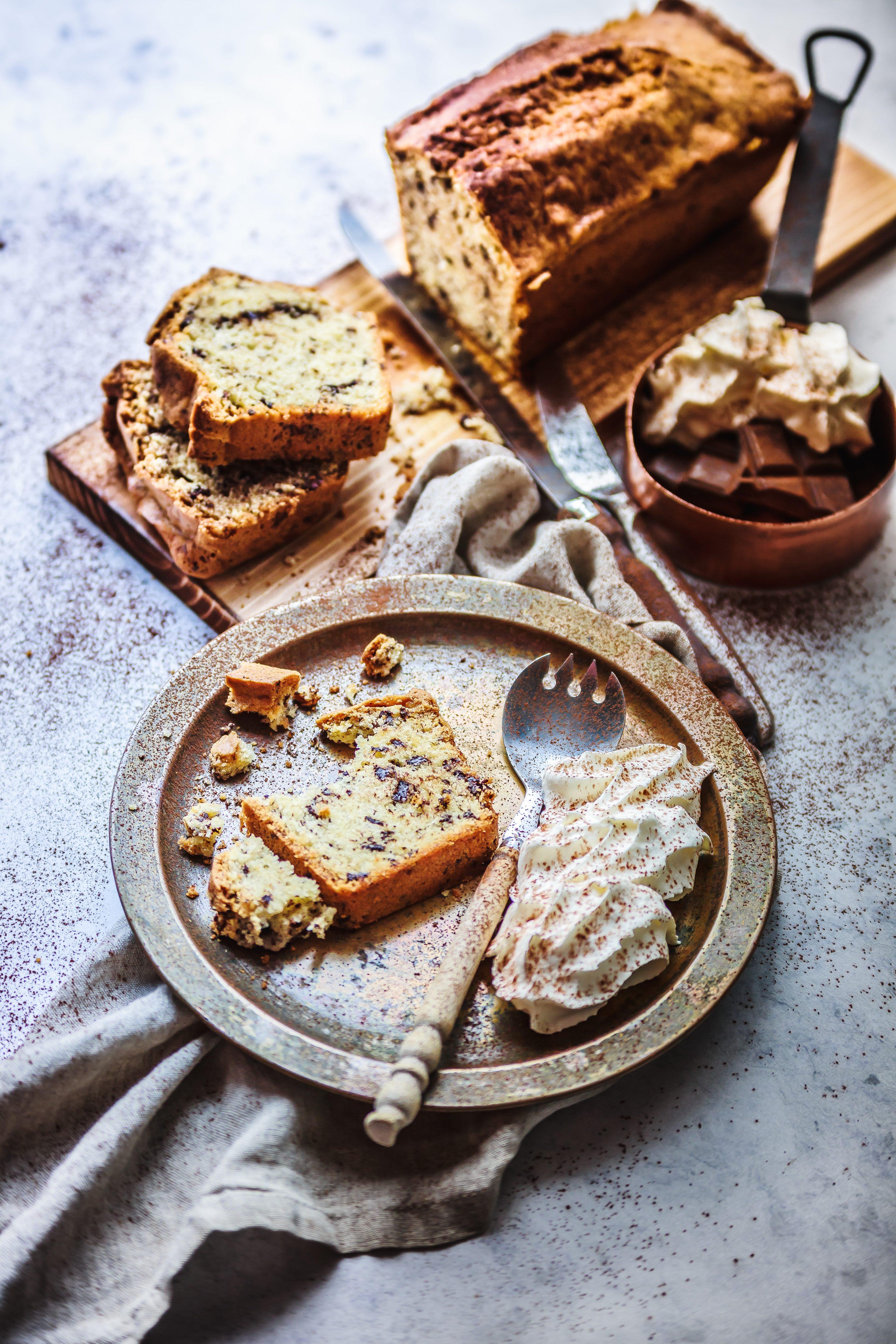 Recette Cake pur beurre aux éclats de Chocolat