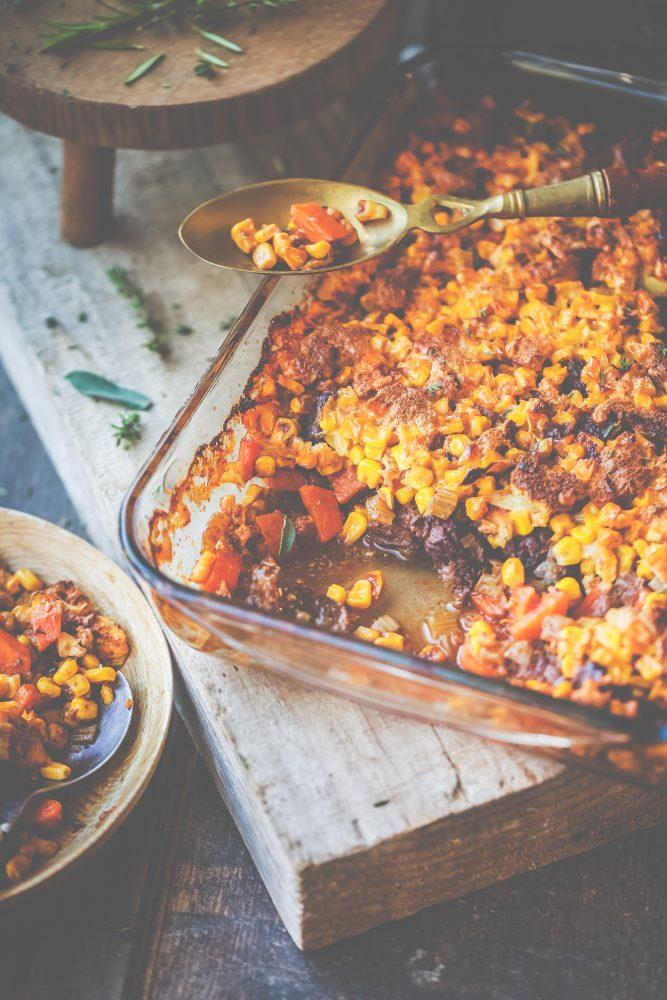 Recette Boeuf carotte et sa croute de mais