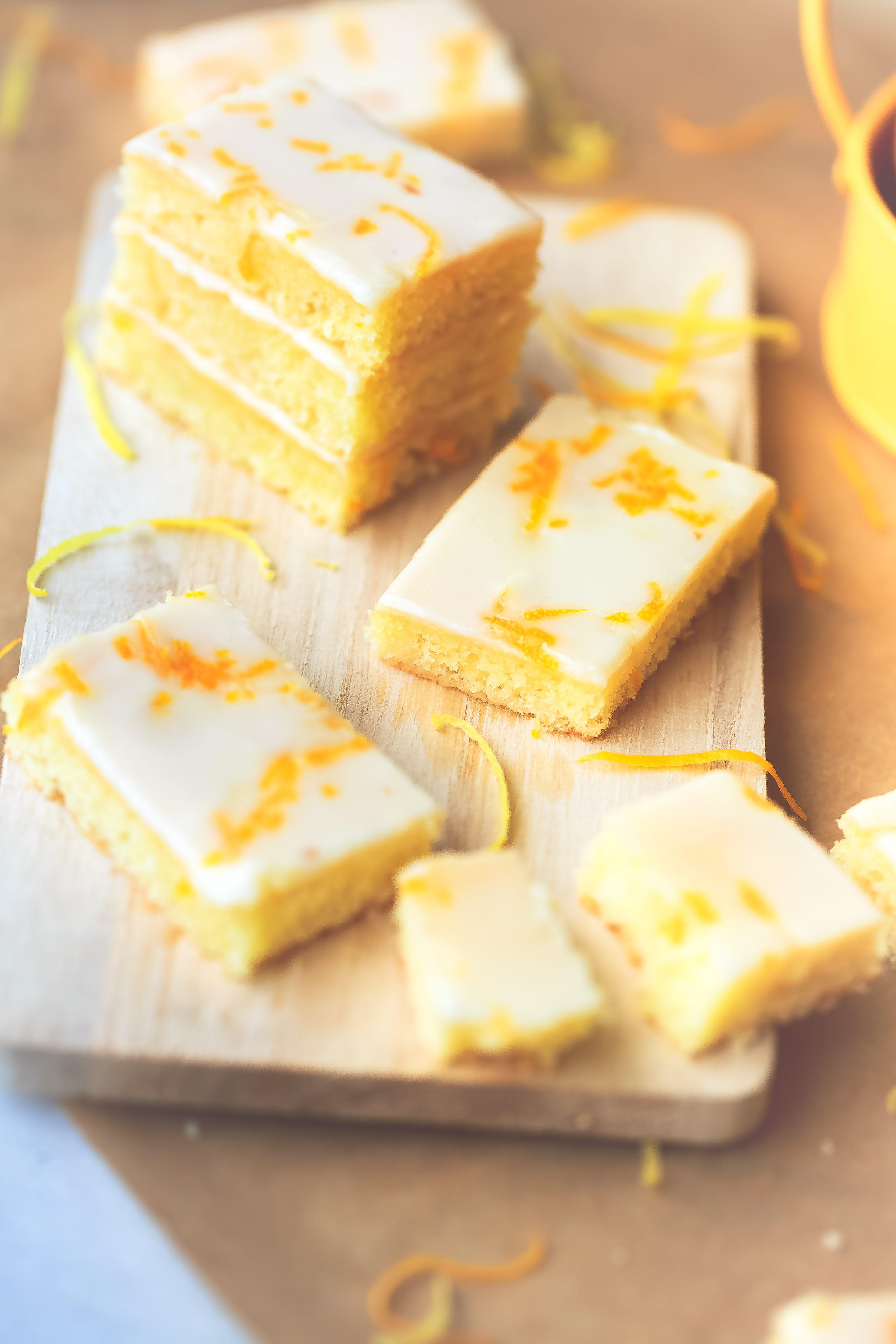 recette Bouchées fondantes au citron et à l'orange.