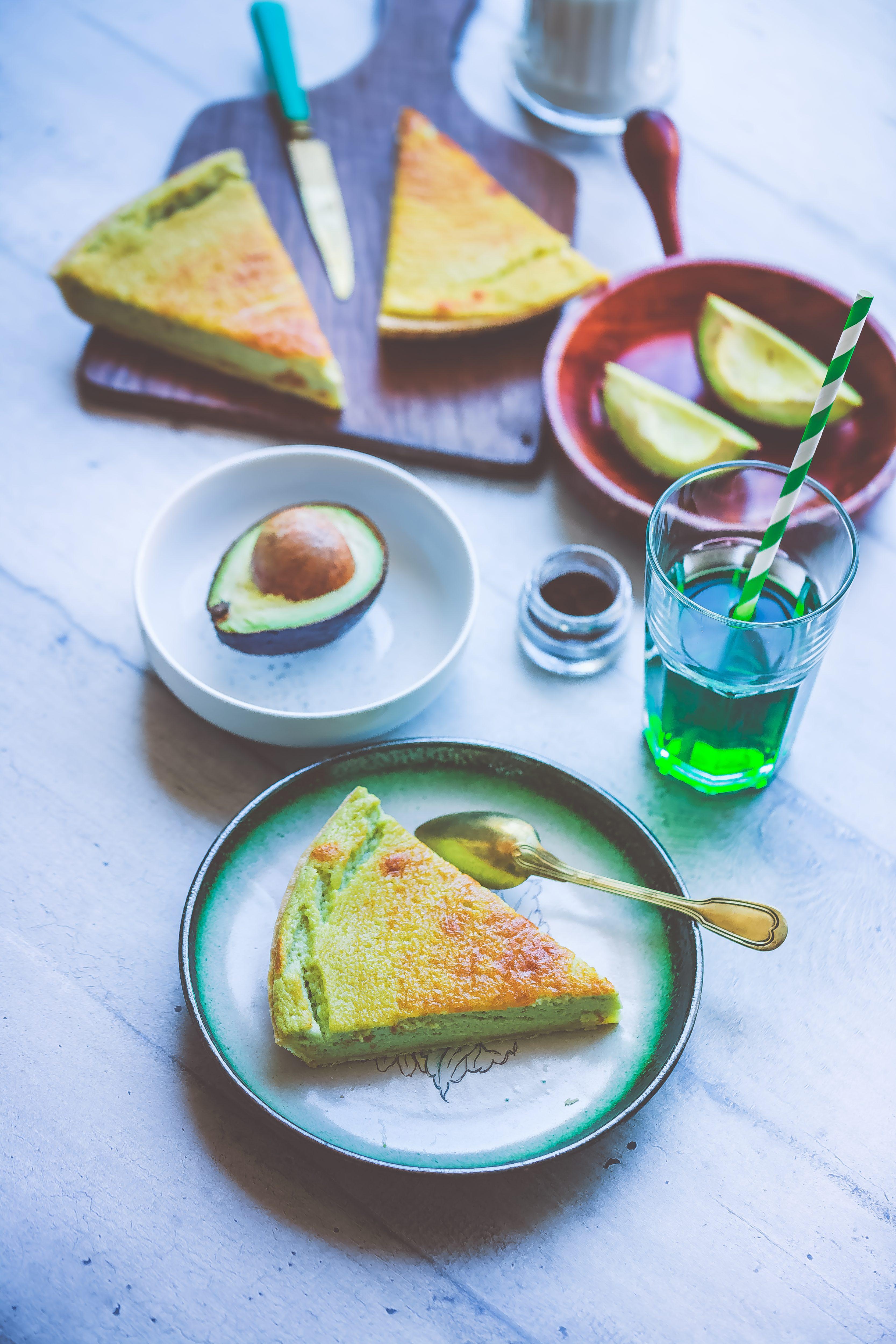 Recette facile Tarte sucrée Avocat Vanille